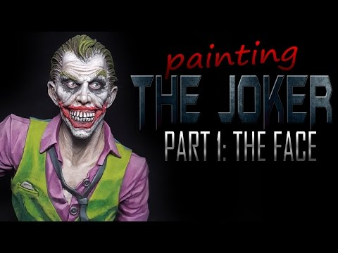 Painting The Joker - Part 1: Face, Hair and Makeup