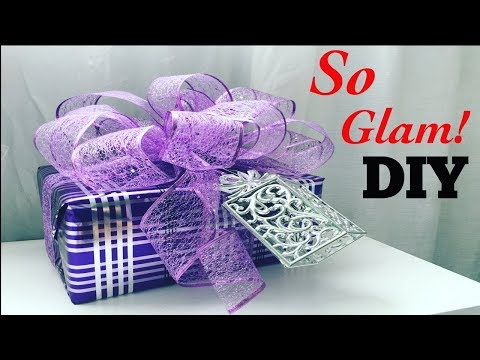 DIY gift wrapping/so glam