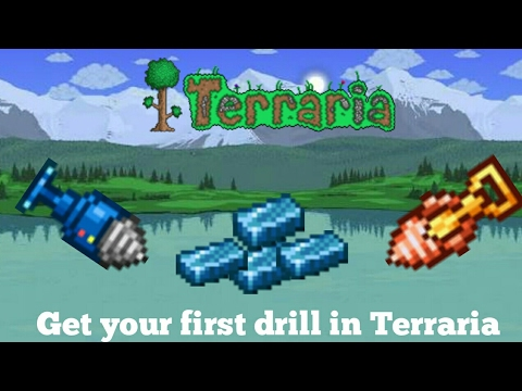How to get your cobalt drill in Terraria | Get your first drill in Terraria |first drill in terraria