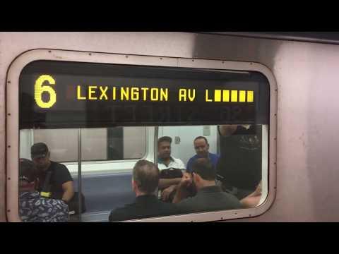 On-Board a 149th St-Grand Concourse bound R142 (6) Train from 86th St to 149th St-Grand Concourse