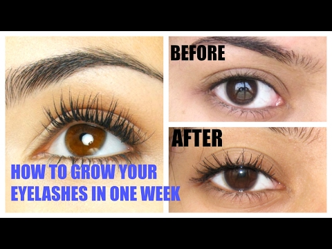 How to grow your Eyelashes at Home naturally in 1 week.SIMPLE INDIAN BEAUTY TIPS