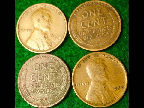 1920s Wheat Pennies Worth Collecting