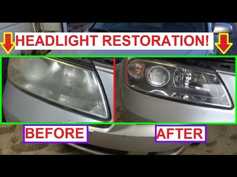 How To Restore Your Headlights and Make them like NEW AGAIN HYUNDAI SONATA Attempt
