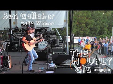 2012 Hourly Gig Winner - Ben Gallaher