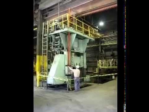 1200 ton Used Williams & White Hydraulic Press for sale