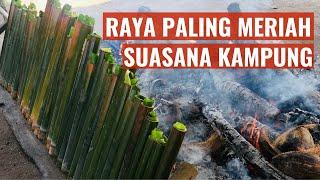 Raya Aidilfitri 2015 - Balik Kampung - Kaw Kaw Suasana Kampung Punya Raya