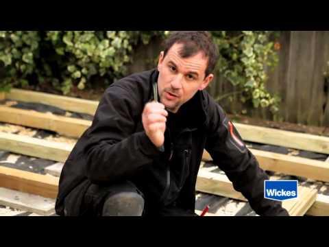 Wickes : How to lay garden decking with Diarmuid Gavin