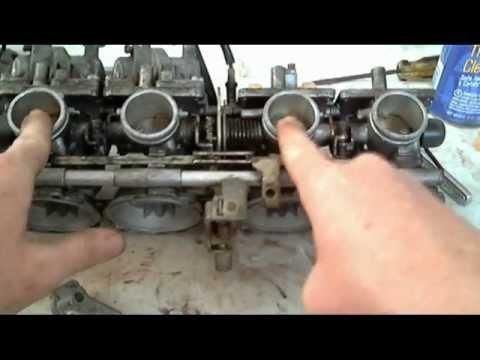 Motorcycle Carburetor Bench Sync