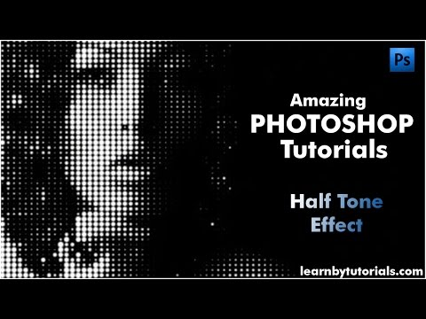 Halftone Effect Part 1 : Photoshop Cs6 Tutorials