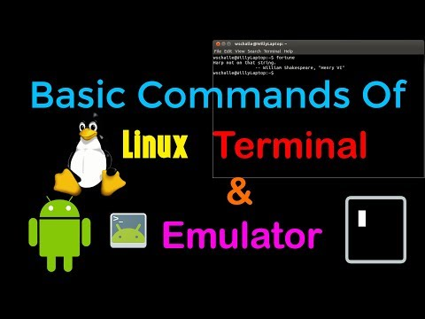 Top 10 Basic Linux Terminal Commands (adb shell)| Android Terminal Emulator, Termux| Hacker Hero