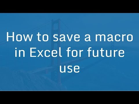 How to Save a Macro in Excel for future use | Excel VBA Macro in Hindi
