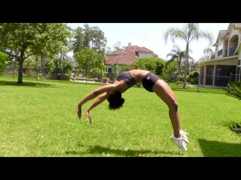 Tips for a Standing Back Handspring
