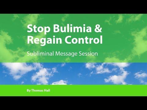 Stop Bulimia & Regain Cotrol - Subliminal Message Session - By Thomas Hall