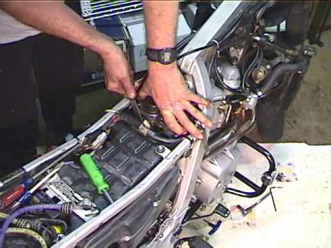 How to replace a motorcycle carburetor. Carburetor installation instructions