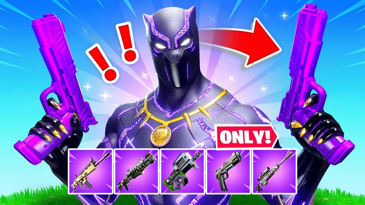The *BLACK PANTHER* Challenge in Fortnite!