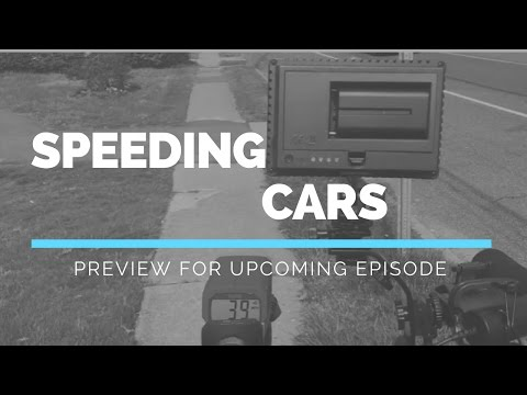 Cars Speed Down Long Island New York Street | Video Preview  North Babylon NY