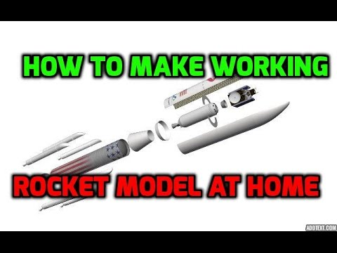 How to Make Working Rocket at Home