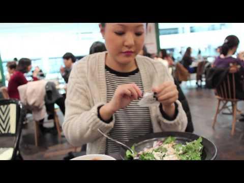 korea vlog: times square