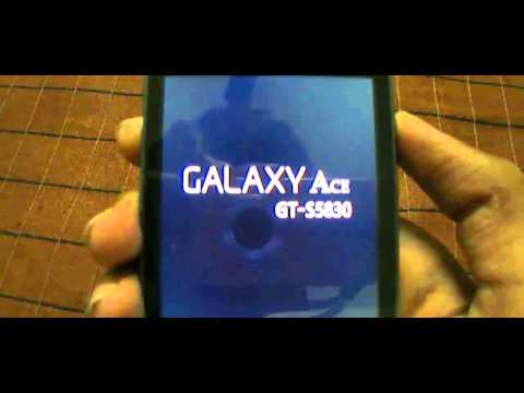 How To Root Galaxy Ace On Android 2.3.5 & 2.3.6