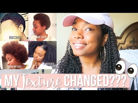 MY TEXTURE CHANGED??? 👀 | NATURAL HAIR