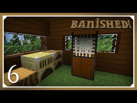Minecraft Banished Modpack | Pulvus, Furnus & Strainer! | E06 (Harsh Survival Minecraft 1.10.2)