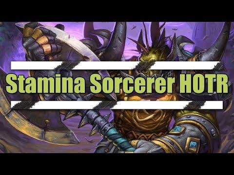 Stamina Sorcerer PvP Build - Elder Scrolls Online: HOTR