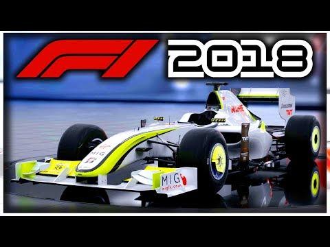 F1 2018 Game: BRAWN GP CAR REVEALED! - FIRST NEW CLASSIC CAR IN F1 2018!
