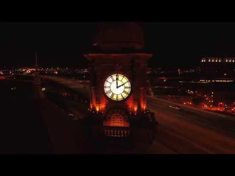 April 11, 2018 Vlog #92 Speed ramp test of Clock Tower in Richmond Va