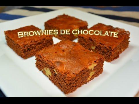 Brownie de chocolate receta fácil