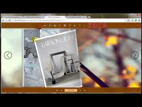 Flip HTML5 free jquery magazine maker to download