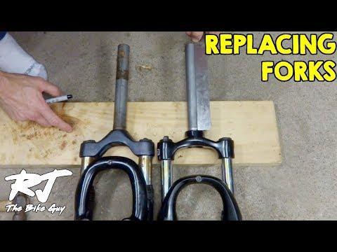 Replacing Forks/Shocks On Mountain Bike