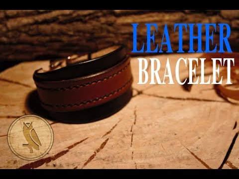 Making a Leather Bracelet