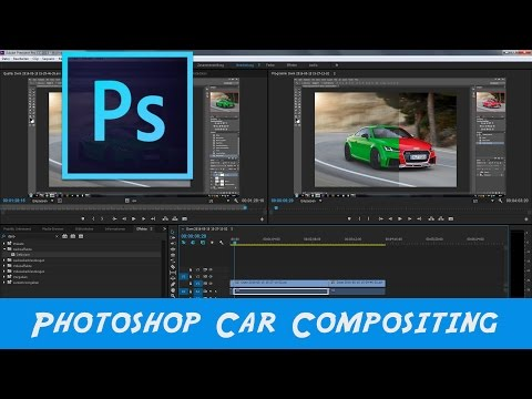 Photoshop Car Color change Tutorial Deutsch