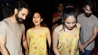 Lovebirds Shahid Kapoor And Mira Rajput Snapped On A Dinner Date