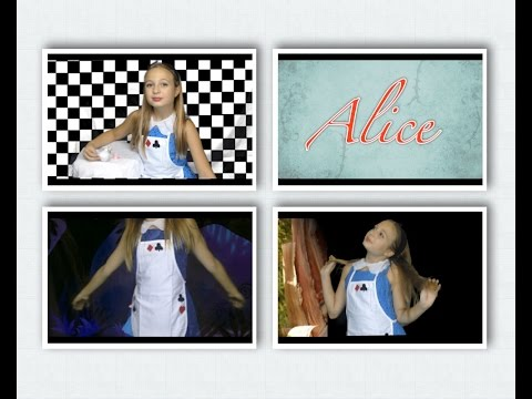 DIY Alice In Wonderland Costume, Hair, And Makeup | Halloween