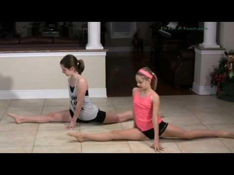 Jete Split Jumps - Split Leaps Ballet - How to do a Jete Dance Move