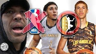 LiAngelo Ball SIGNS TO JBA (NOT NBA) JOINS LAMELO ON LA BALLERS! LaVar Shook?!