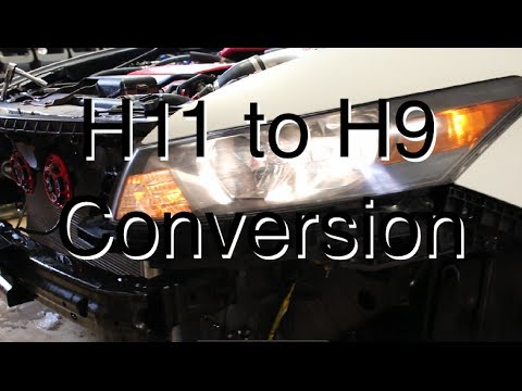 DIY: H11 to H9 Low Beam Conversion