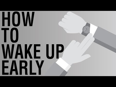 HOW TO WAKE UP AT EARLY AND NOT FEEL TIRED   HOW I FINALLY TRAINED MYSELF TO WAKE UP EARLY
