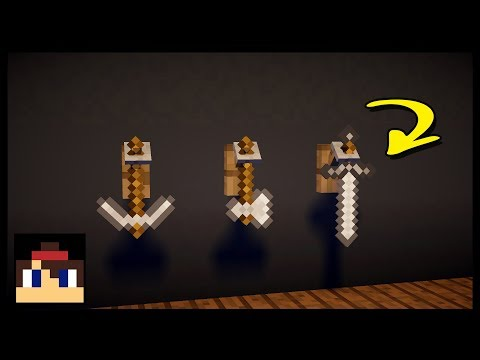 ✔ Minecraft: How To Make A Working Tool Rack | No Mods Or Addons!