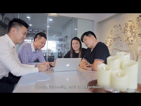 Singapore Client Testimonial For Property Agent Video - Michael & Josephine
