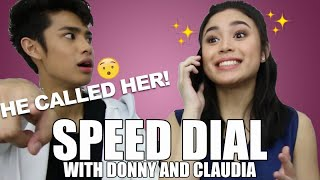 Claudia Barretto, Donny Pangilinan - SPEED DIAL