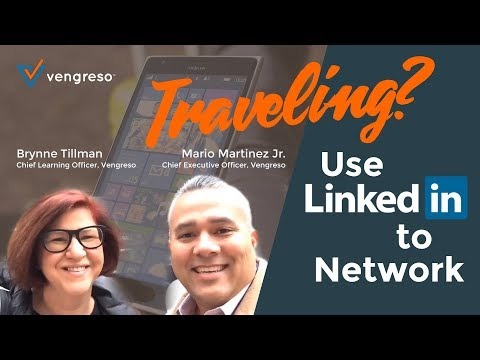 Traveling for B2B Sales? Learn this LinkedIn Tip to Networking While Traveling to Fill Your Pipeline