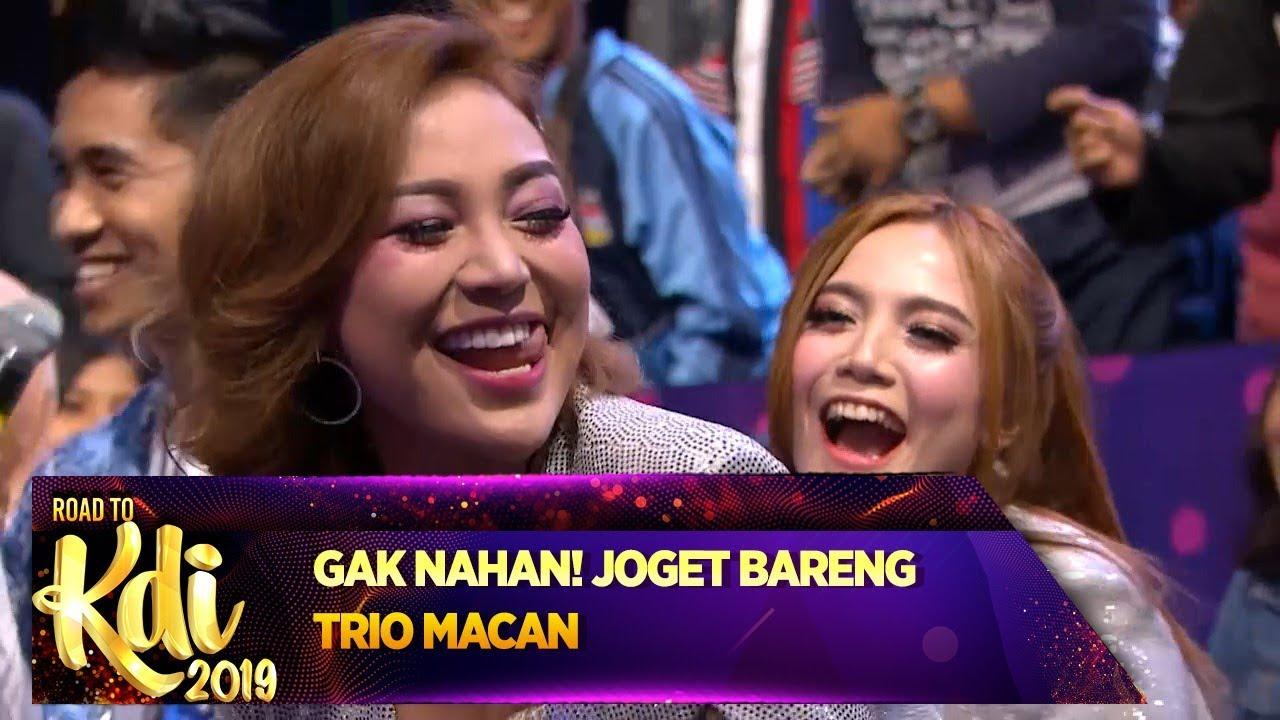 Download TRIO MACAN TERBAIK! Semua Ikutan Goyang Dangdut - Road To KDI 2019 (3/7) MP3 Gratis