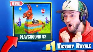 Playground Mode V2 *RETURNS* in Fortnite: Battle Royale! (+ FREE SKINS)