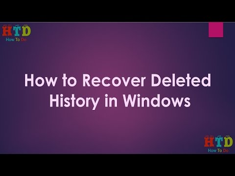 How to recover deleted internet history in windows (Recover Browser History)