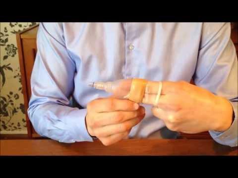 Removing the GeeWhiz Condom Catheter