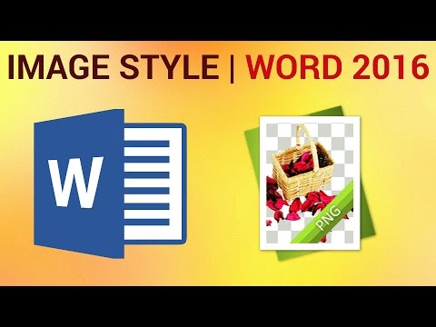 How to Insert Pictures and Use Text Wrapping in Word 2016