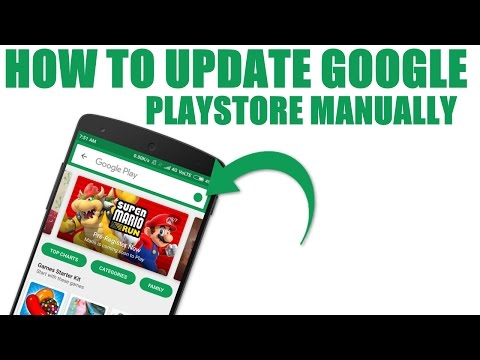 How to update Google play store 2018