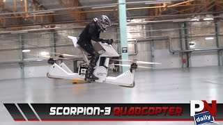 A Quadcopter Than You Can Ride Like An ATV